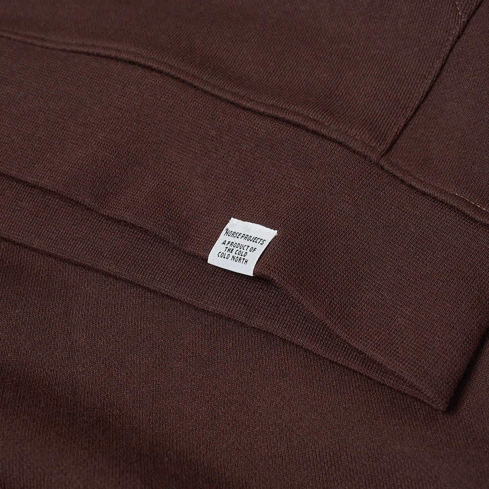 Norse Projects Vagn Classic Hoody - Eggplant Brown
