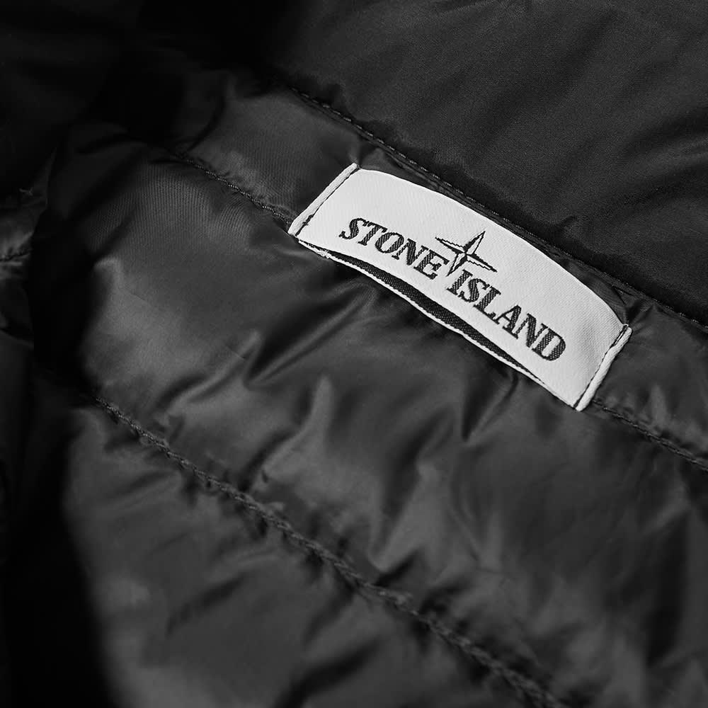 Stone Island Patch Logo Gilet - Black