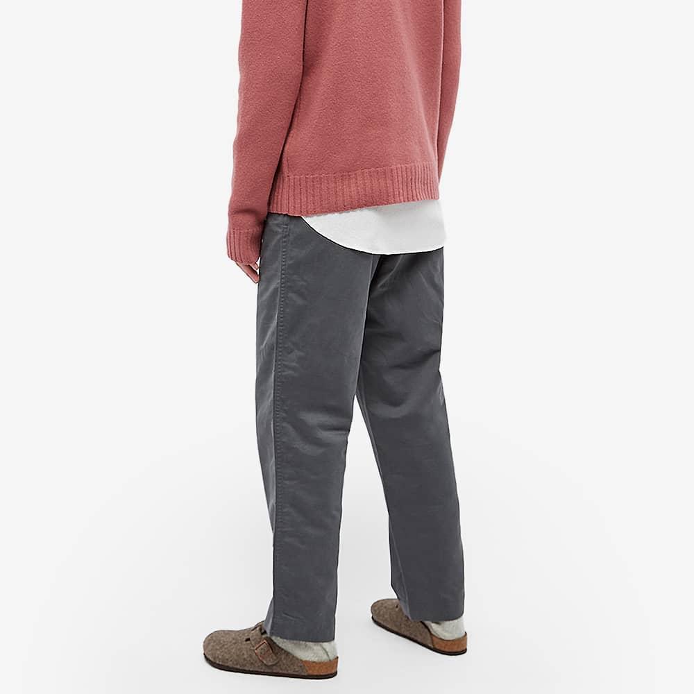 Auralee Buggy Wide Pants - Charcoal