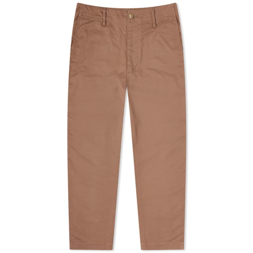 Auralee Buggy Wide Pants - Light Brown