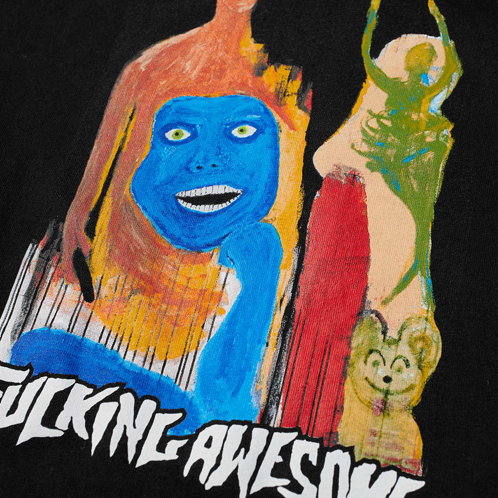 Fucking Awesome Long Sleeve Dill Collage II Tee - Black