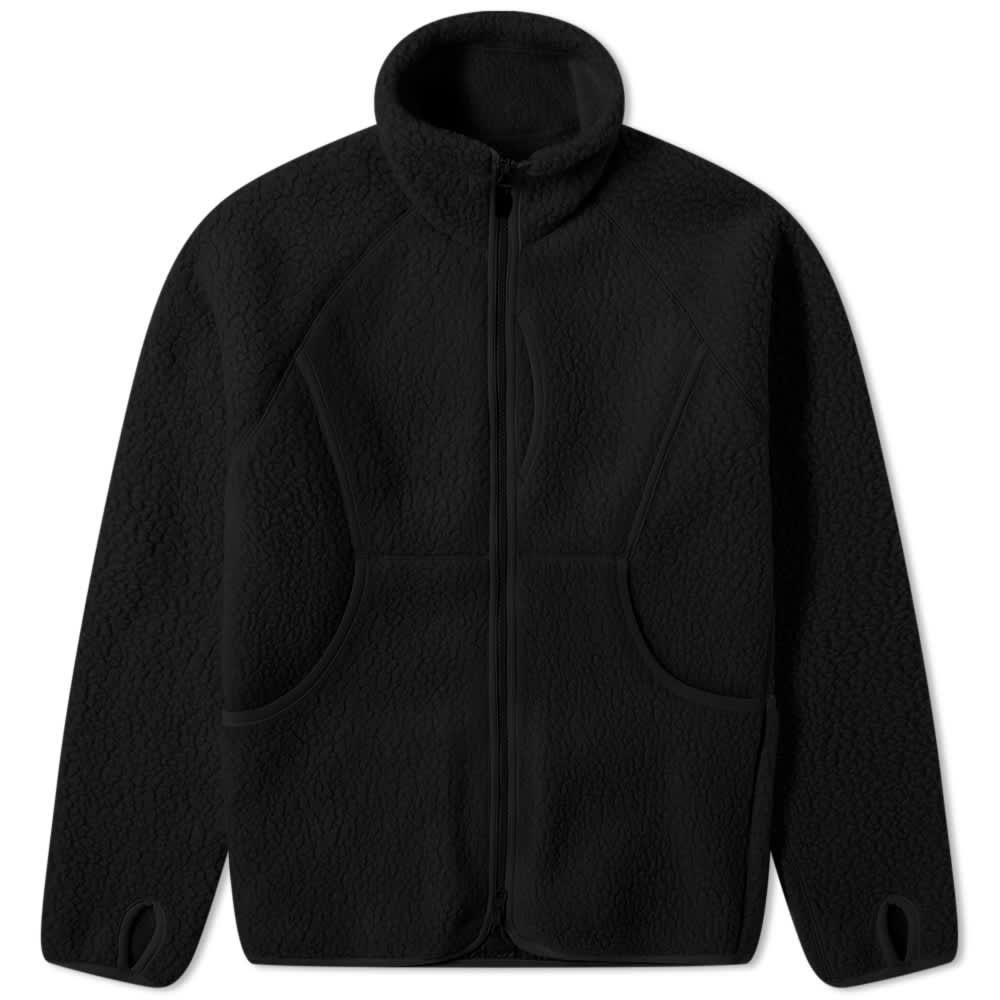 Snow Peak Thermal Boa Fleece Jacket - Black