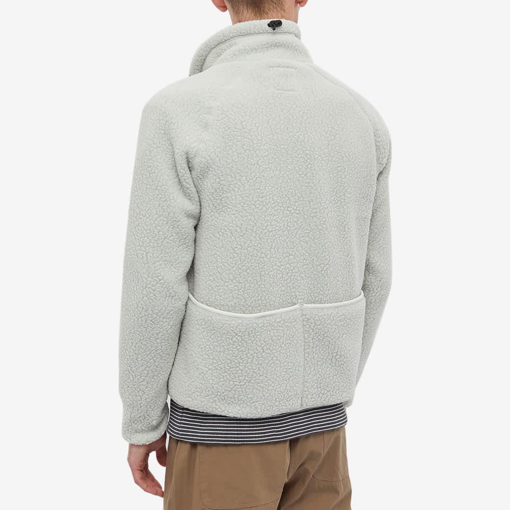 Snow Peak Thermal Boa Fleece Jacket - Ice Grey