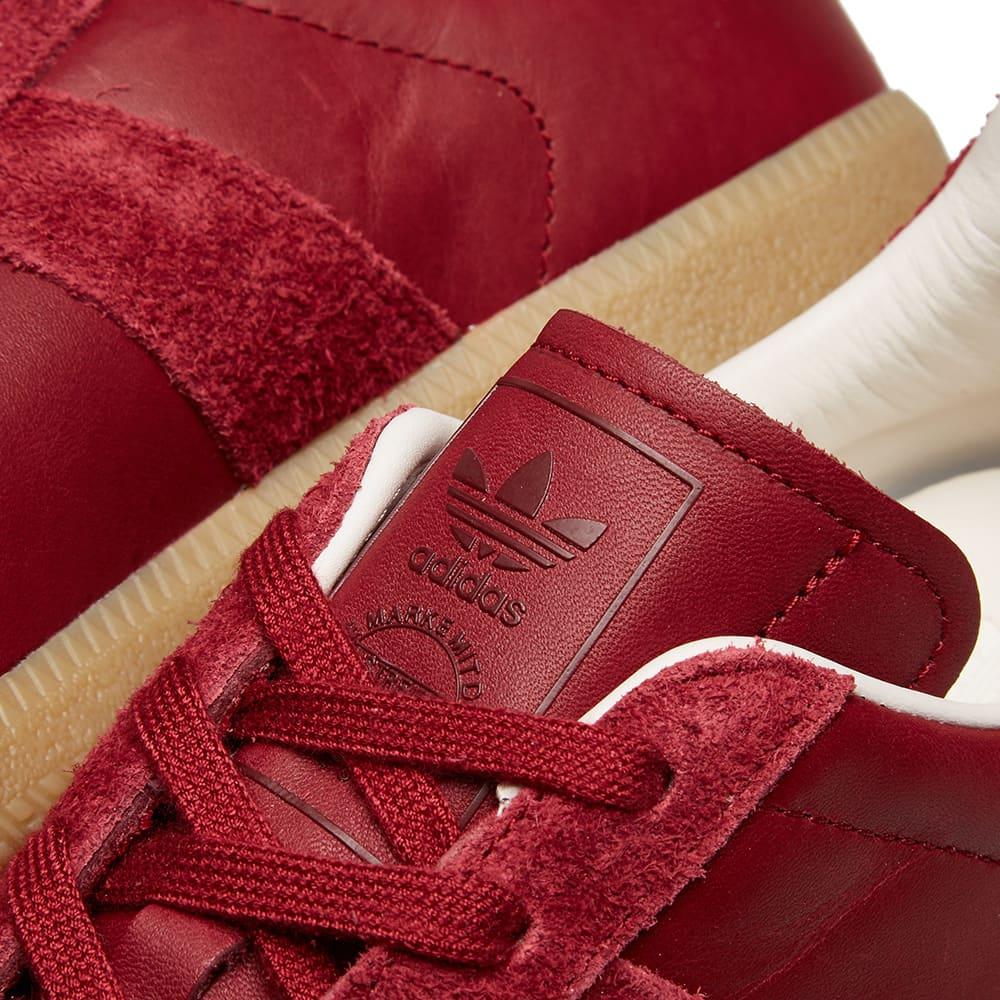 Adidas BW Army Premium Leather - Collegiate Burgundy & White