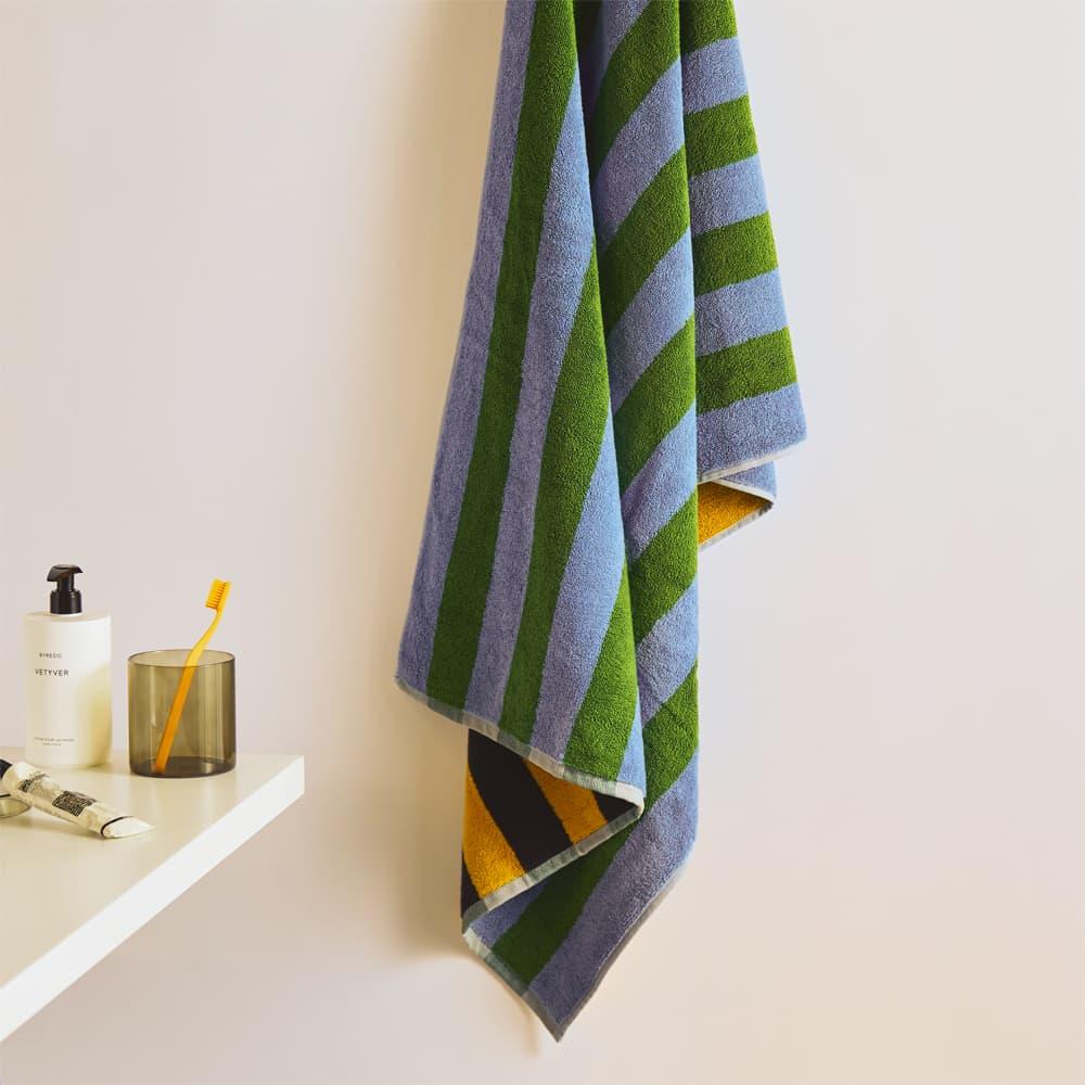 Dusen Dusen Bath Towel - Daisy Stripe