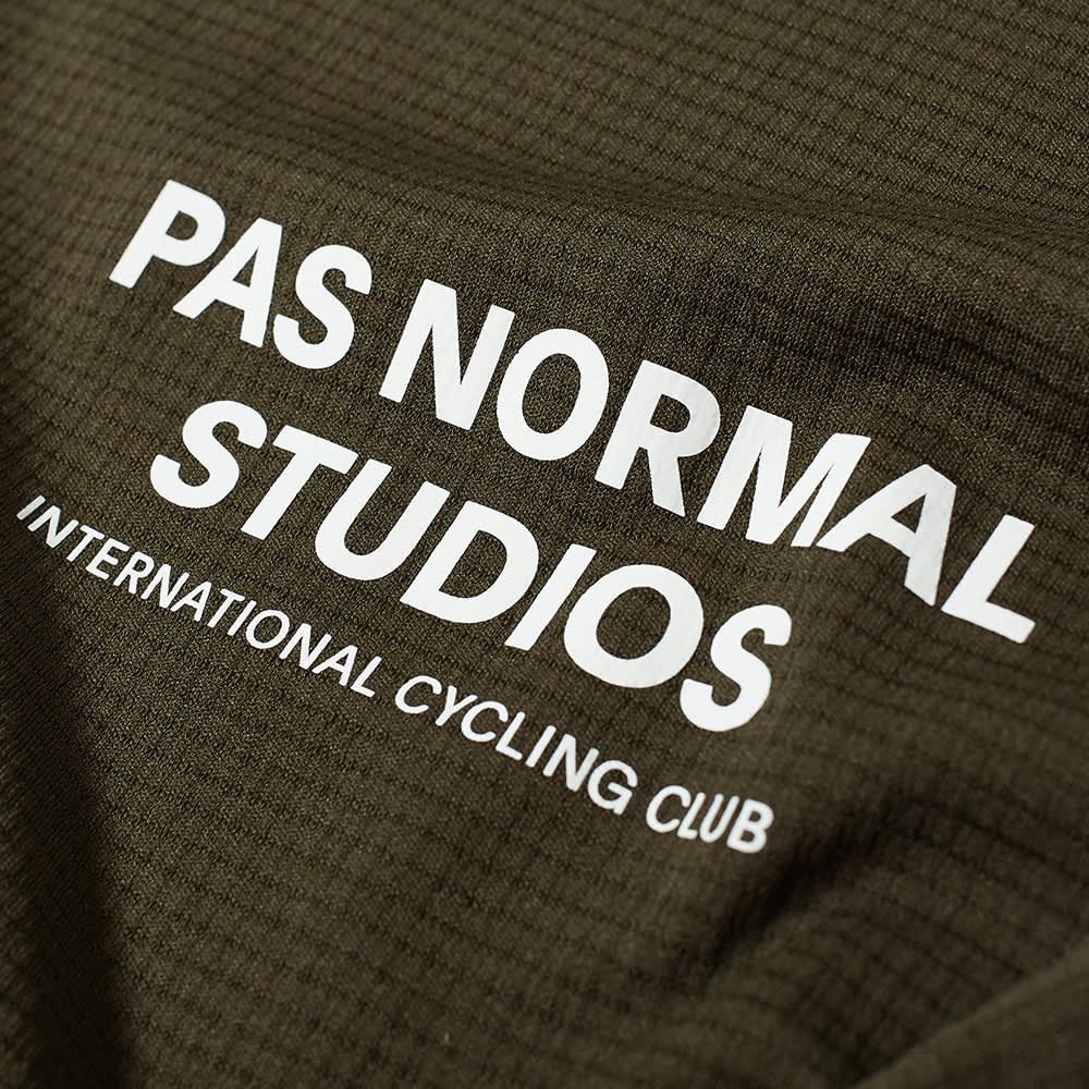 Pas Normal Studios Balance Short Sleeve Top - Dark Olive