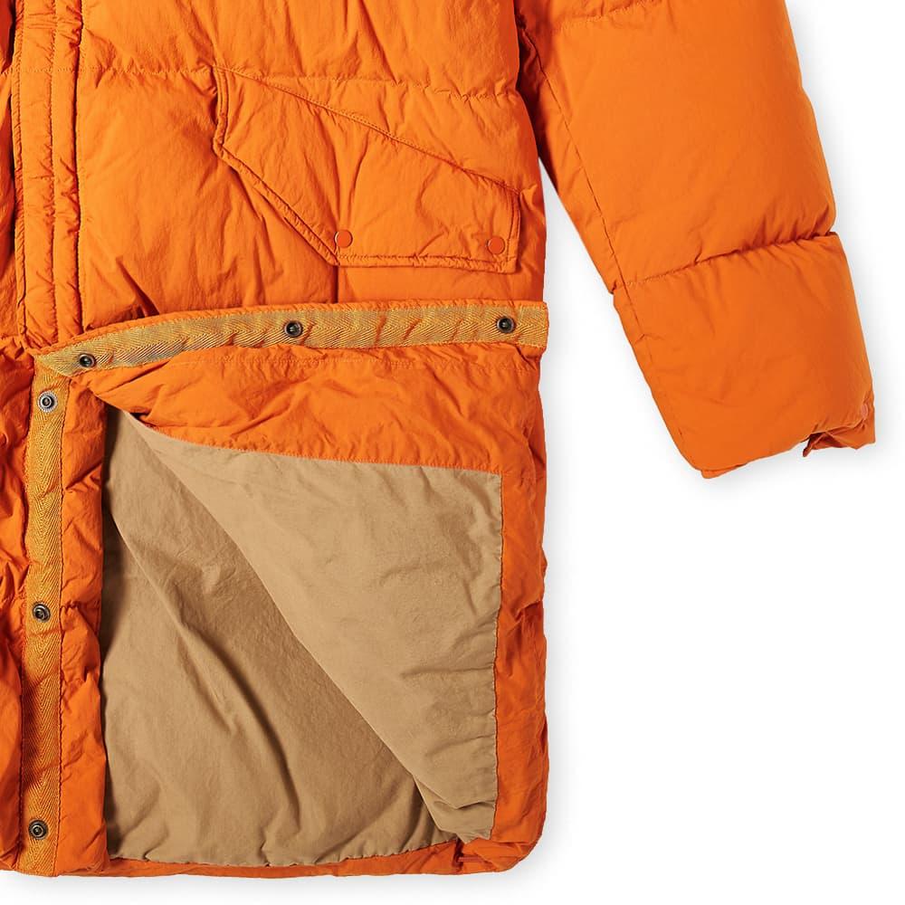 Ten C Mountain Rescue Down Parka - Orange
