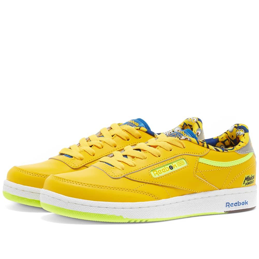 Reebok x Minions Club C 85 GS Yellow