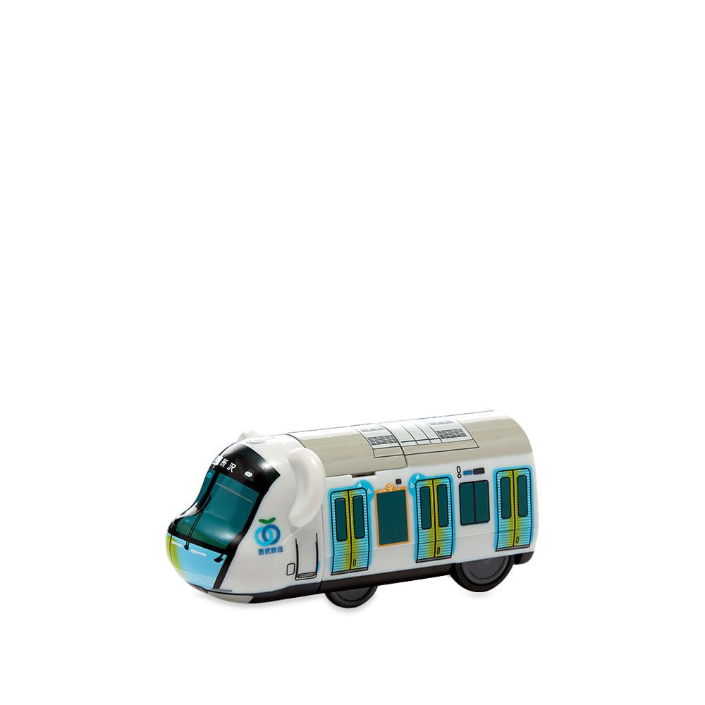 Medicom Train Seibu 40000 Be@rbrick - White