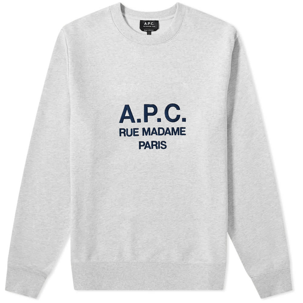 A.P.C. Rufus Embroidered Sweat by A.P.C.