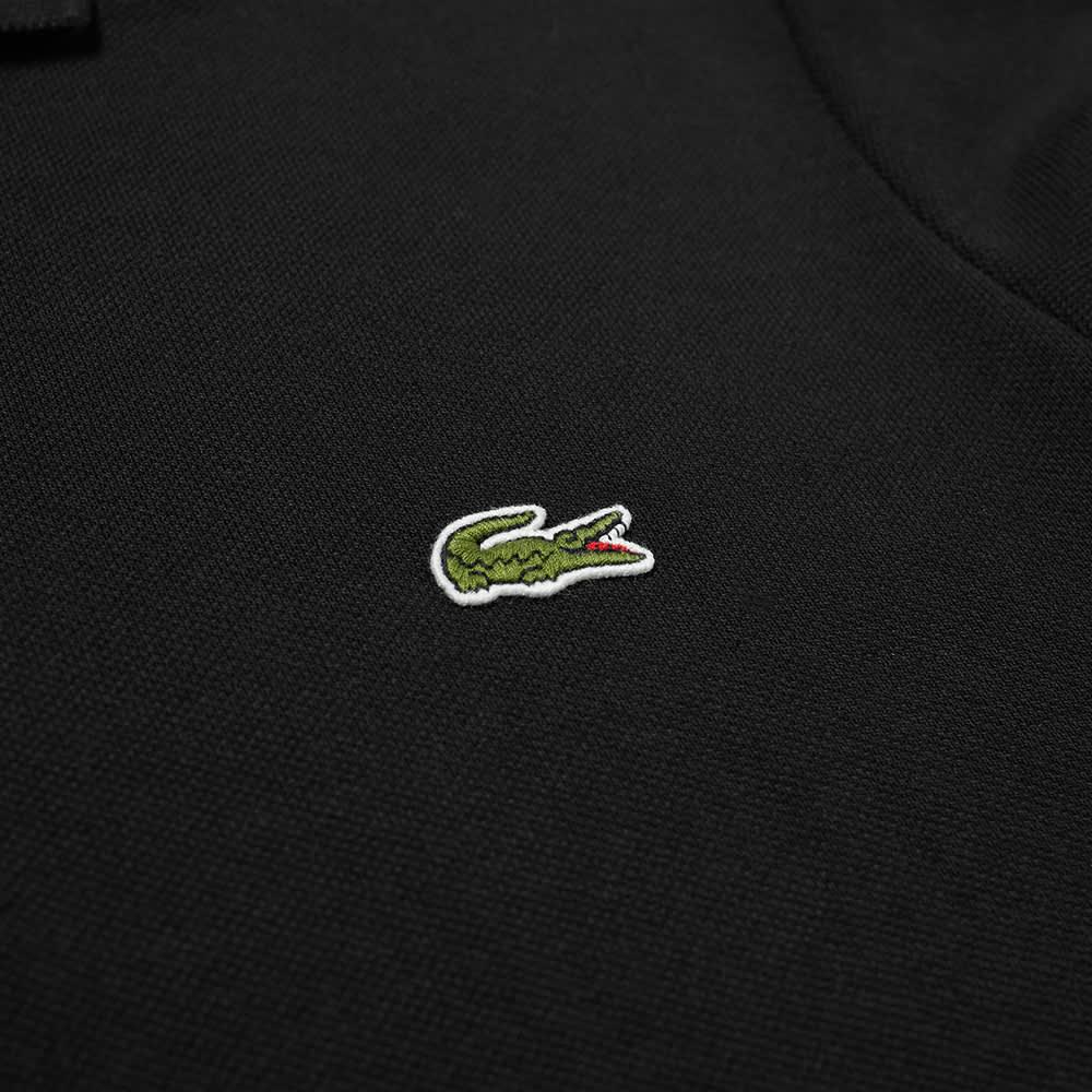 Lacoste Long Sleeve Classic Pique Polo - Black