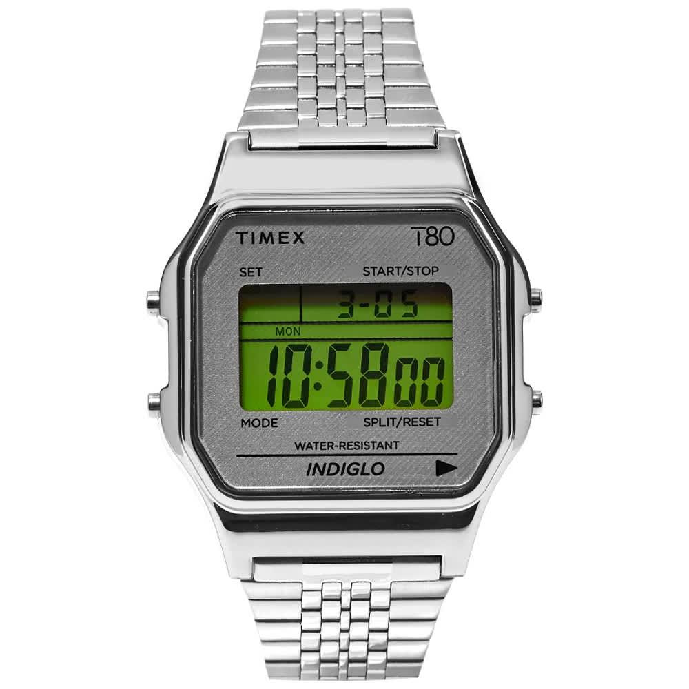 Timex Archive Timex T80 Digital Watch - Silver