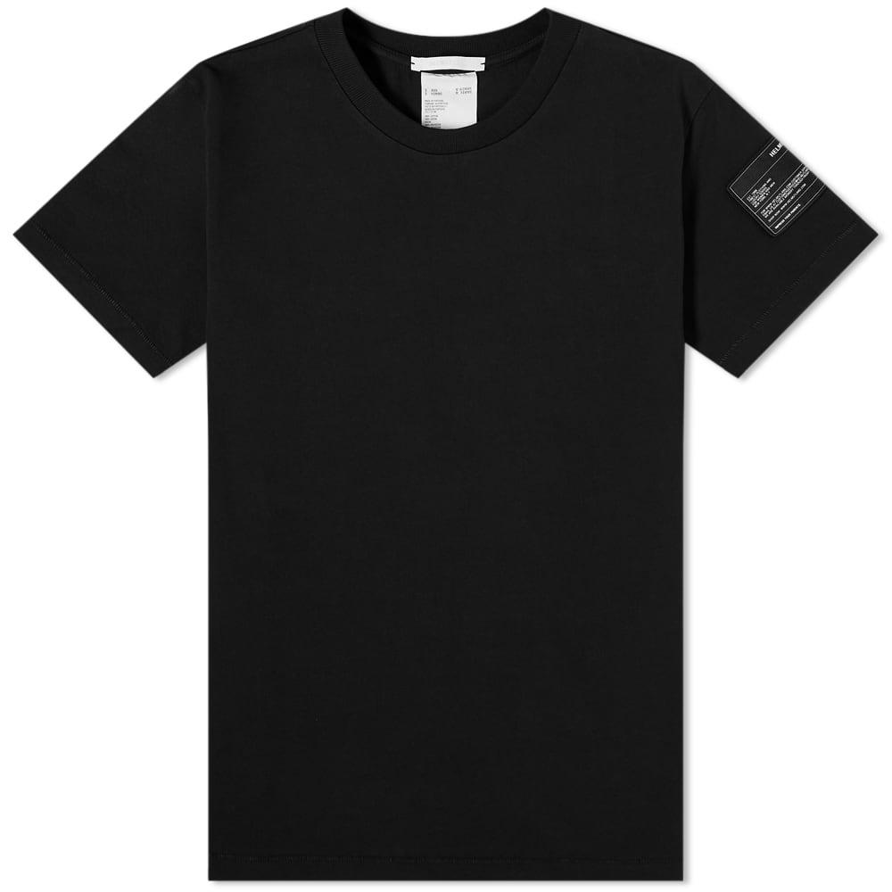 Helmut Lang Patch Logo Tee - Black