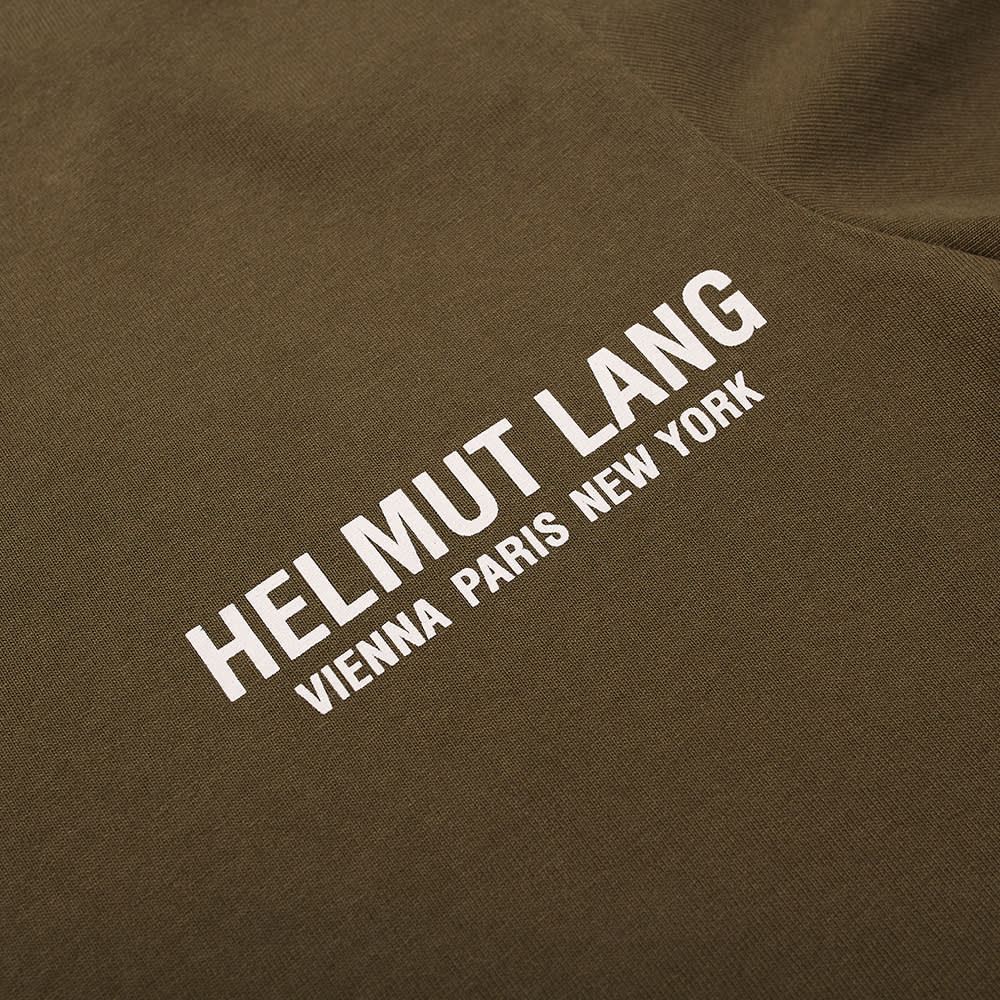 Helmut Lang Strapped Logo Text Tee - Green