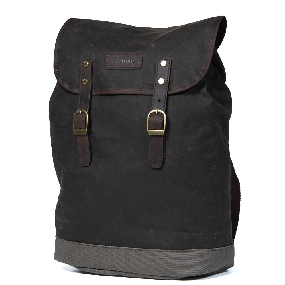Barbour Beeswax City Backpack - Olive