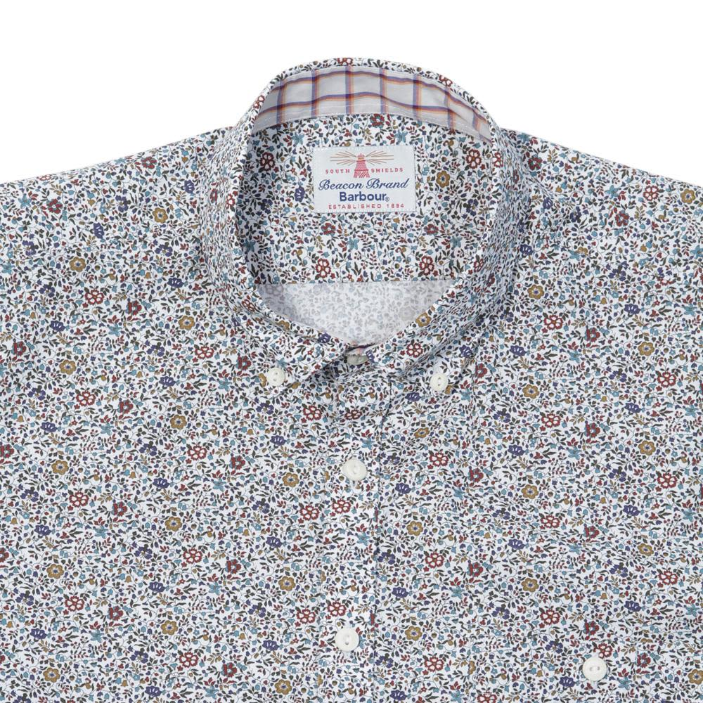 Barbour x Liberty Vine Shirt - Off White