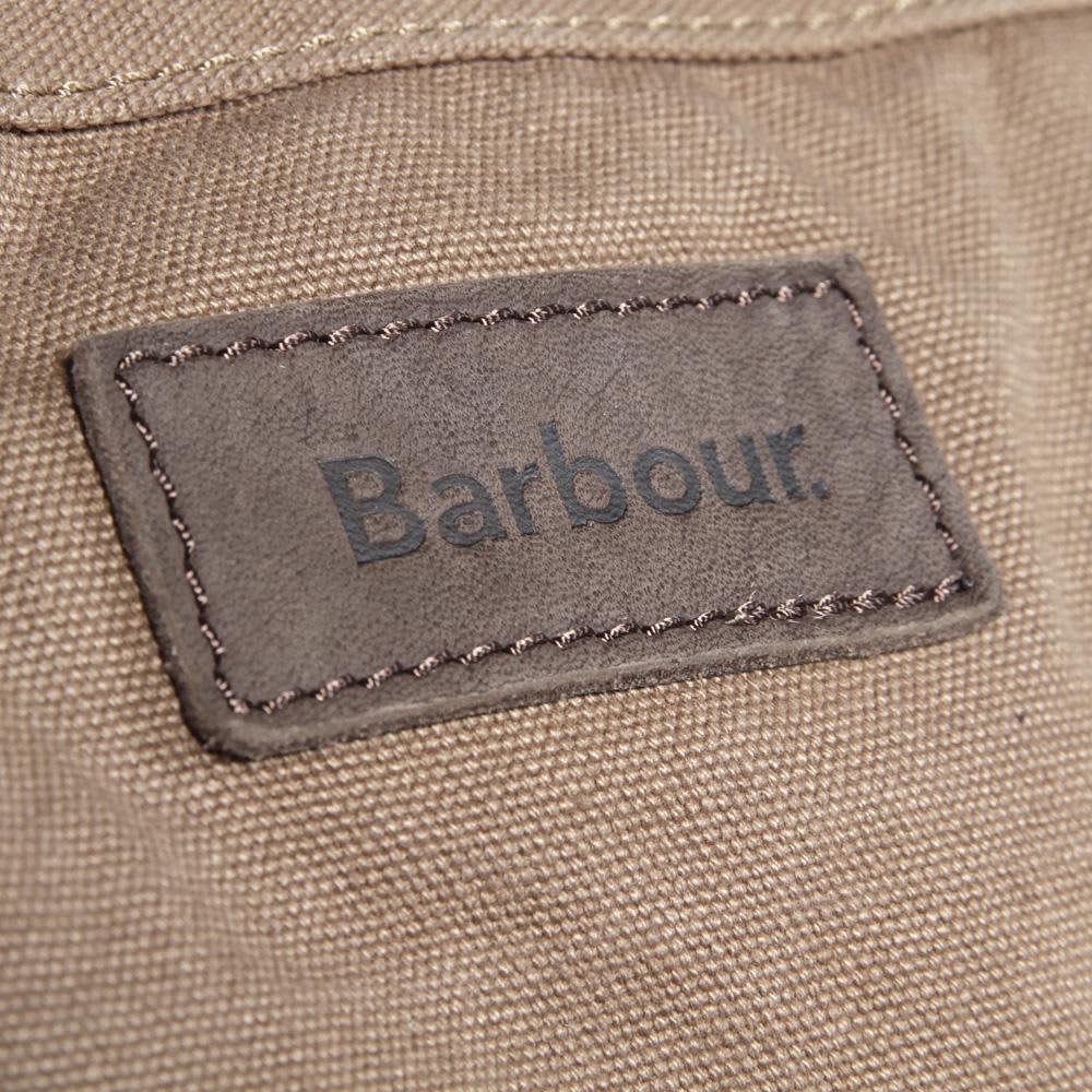 Barbour Washed Canvas Holdall - Sandstone