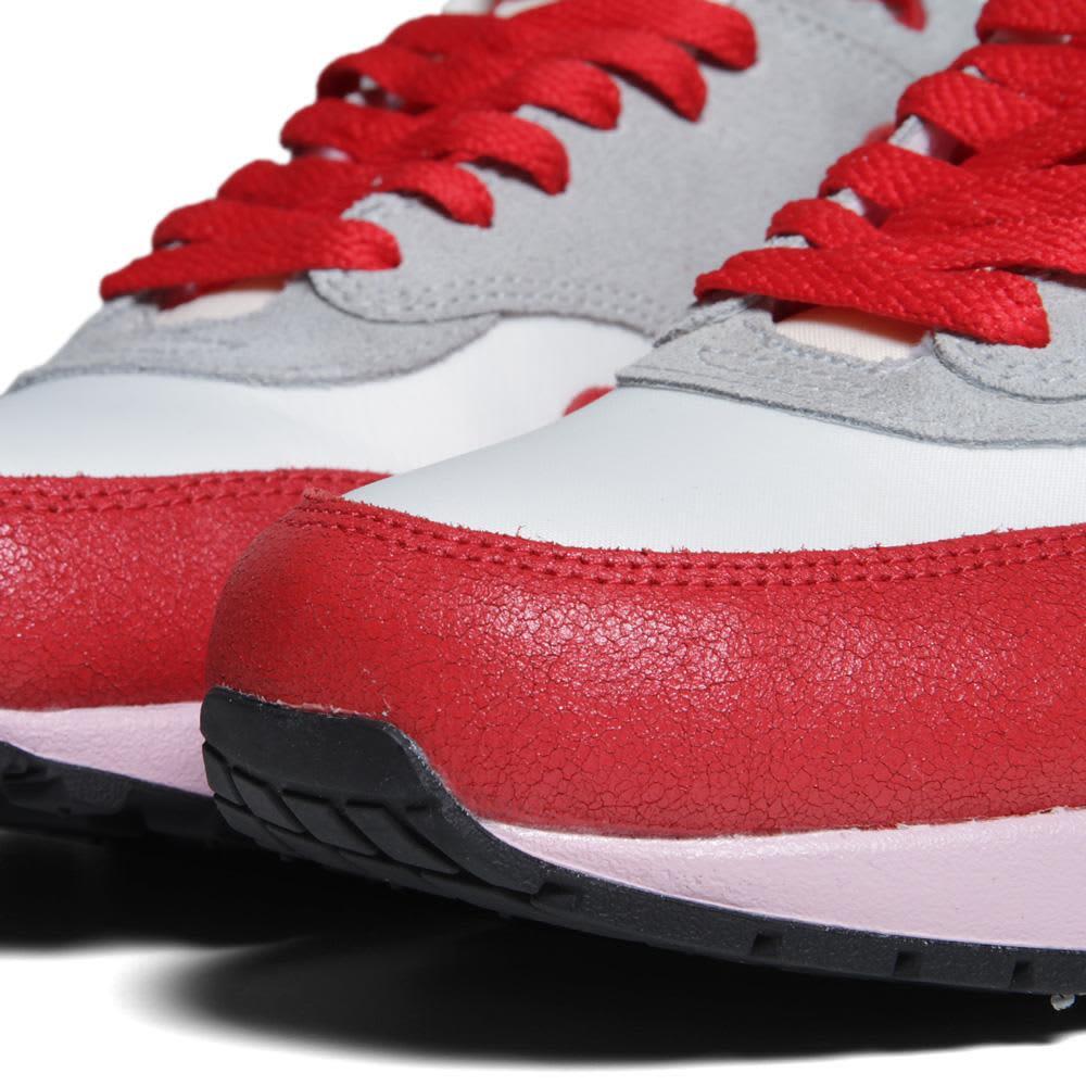 Nike Air Max 1 VNTG - Sail, Hyper Red & Iced Carmine