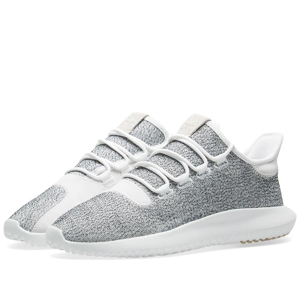 Adidas Tubular Shadow White \u0026 Grey One