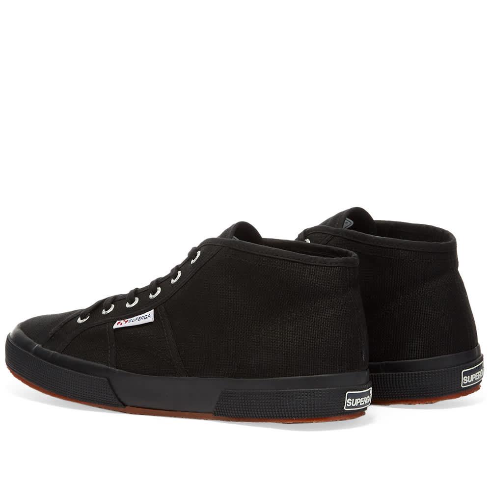 Superga 2754 Cotu Mid - Full Black