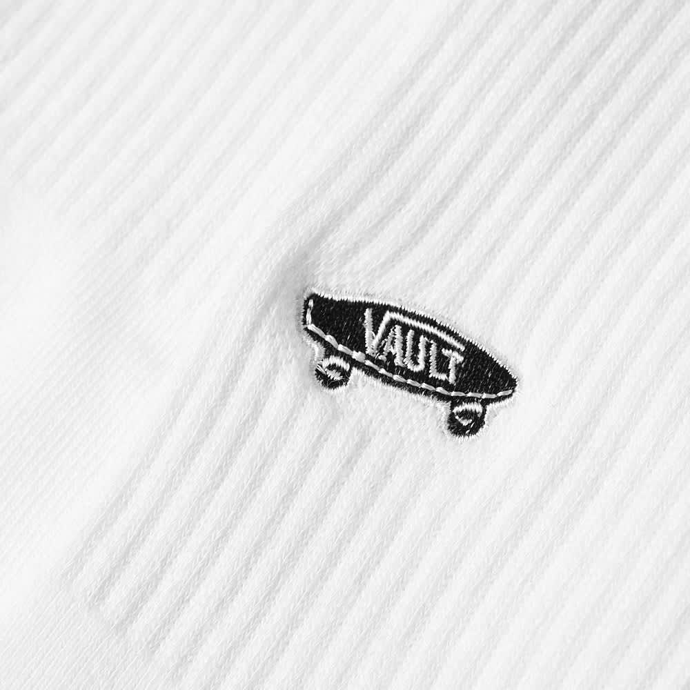 Vans Vault OG Basic Crew Sock - White