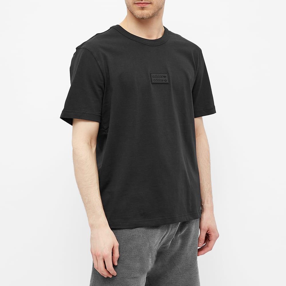 Adidas Silicon Badge Tee - Black