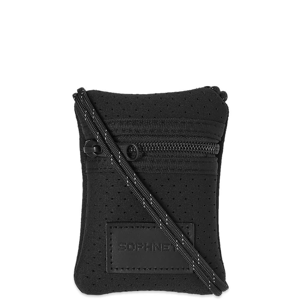 SOPHNET. Bonding Neck Pouch - Black