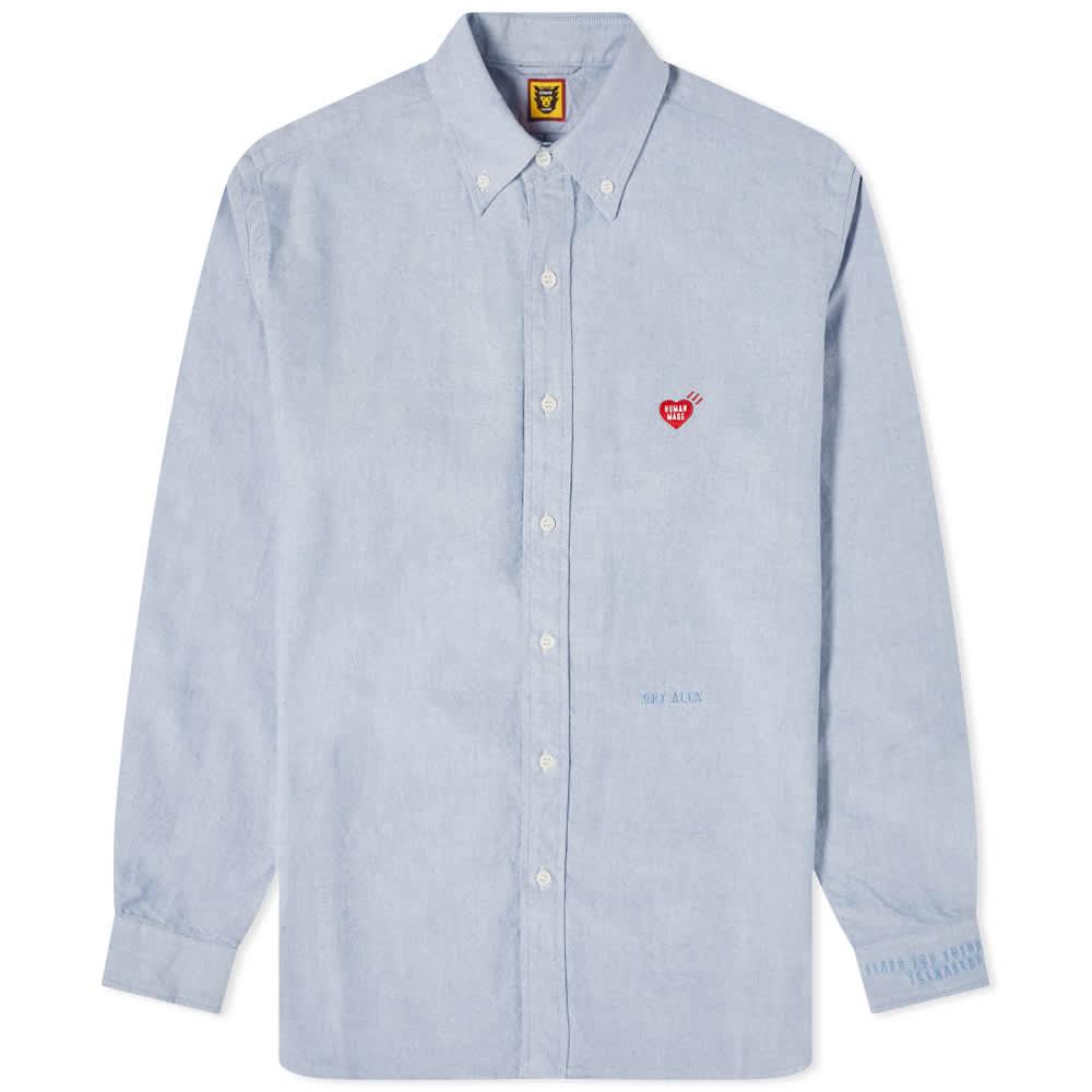 Human Made Oxford Button Down Shirt - Sax