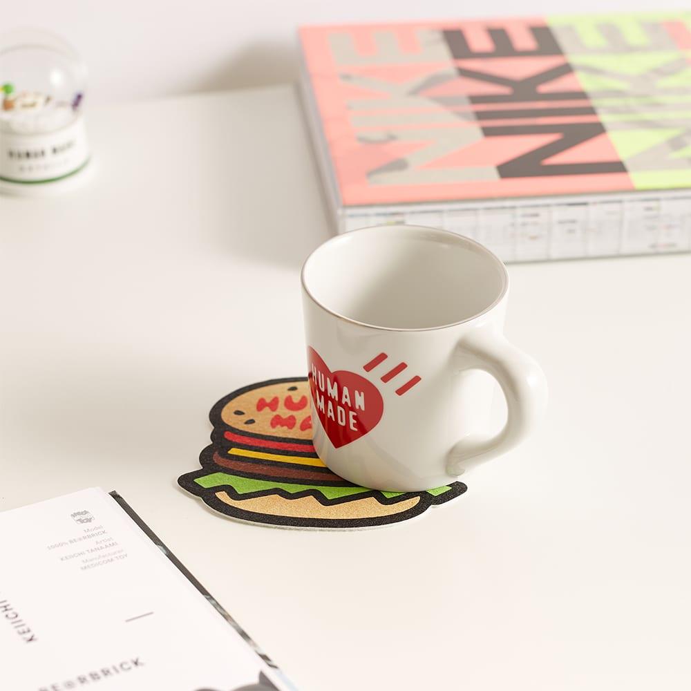 Human Made Felt Coaster Hamburger - Beige