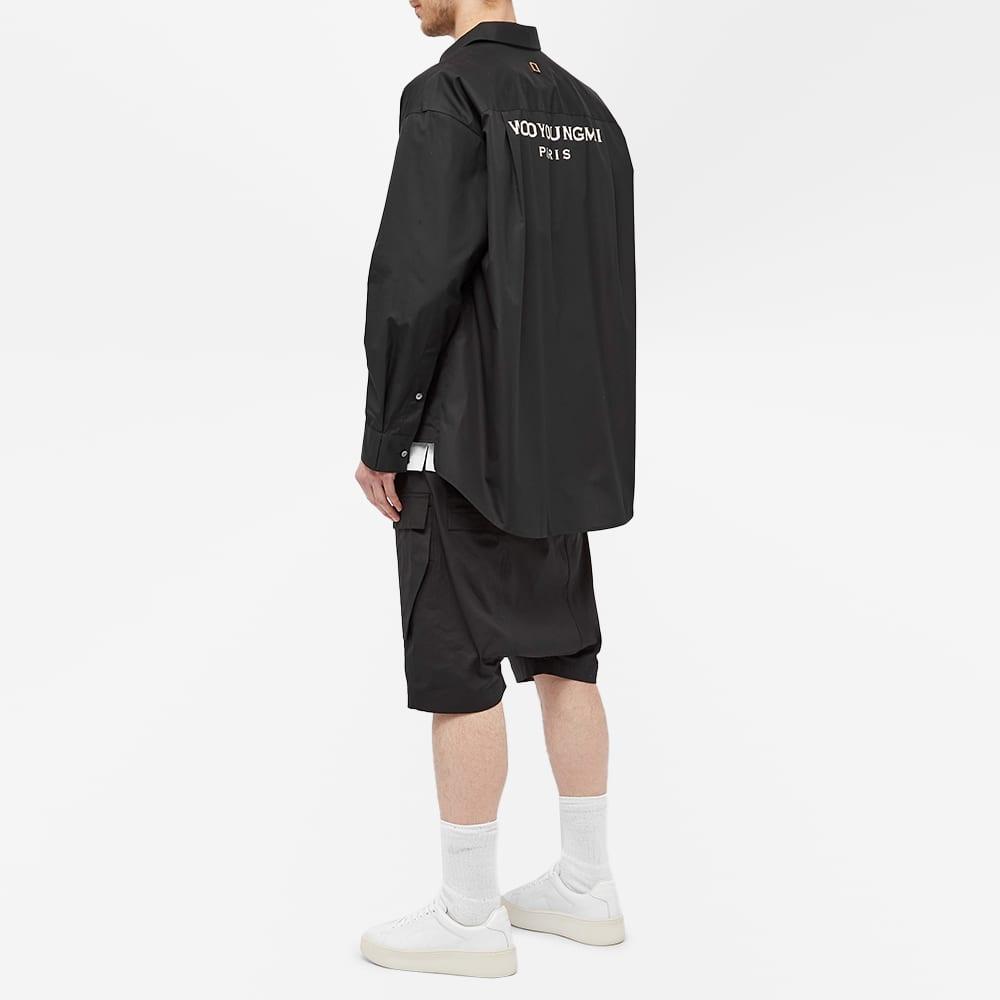 Wooyoungmi Back Print Shirt - Black