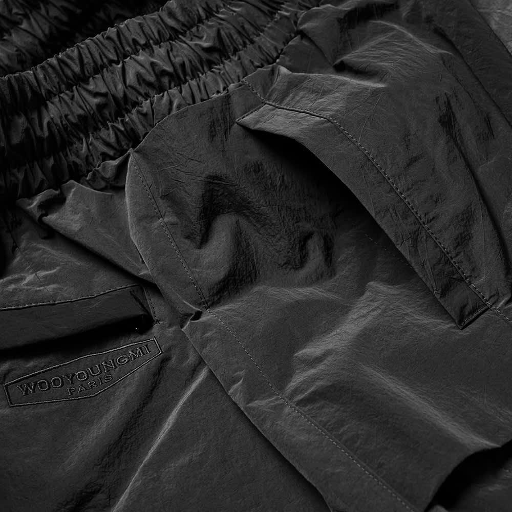 Wooyoungmi Nylon Track Shorts - Black