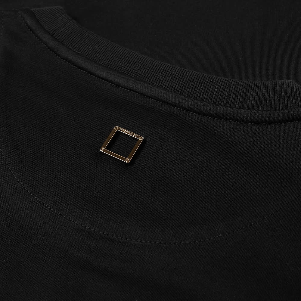 Wooyoungmi Front Outline Tee - Black
