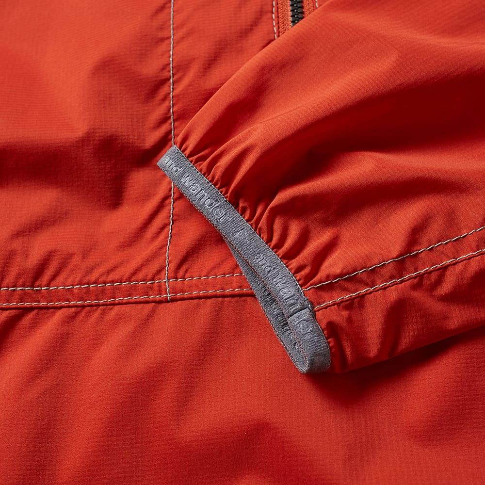 And Wander Pertex Wind Popover Jacket - Orange