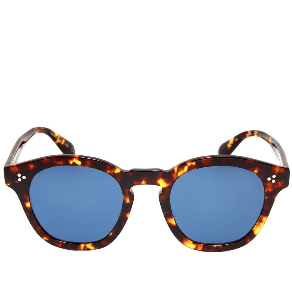 Oliver Peoples Boudreau L.A. Sunglasses - DM2 & Blue