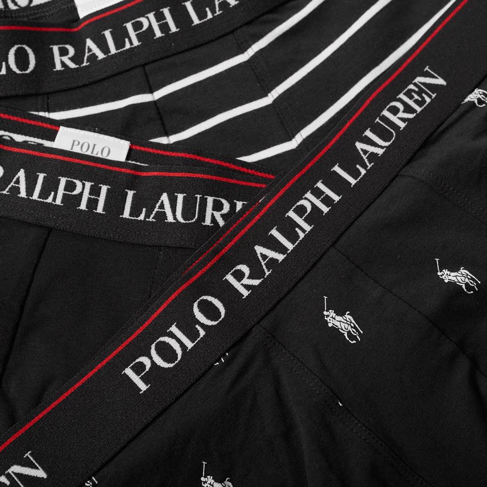 Polo Ralph Lauren Cotton Trunk - 3 Pack - Polo Black & White