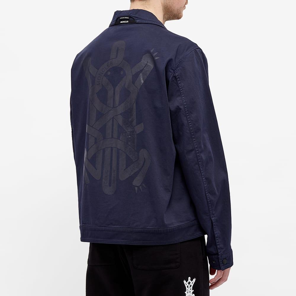 5 Moncler Craig Green Coleonyx Garment Dyed Work Jacket - Navy