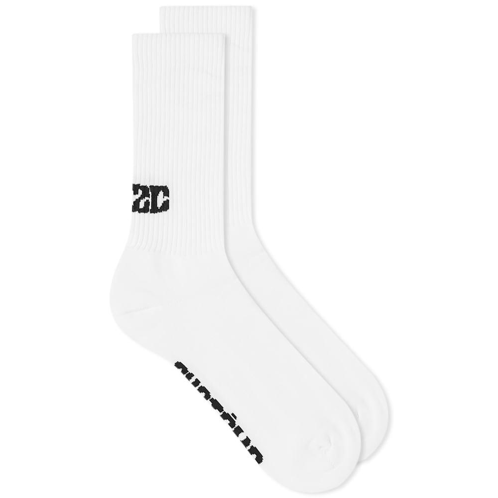 032c Systeme Logo Sock - White