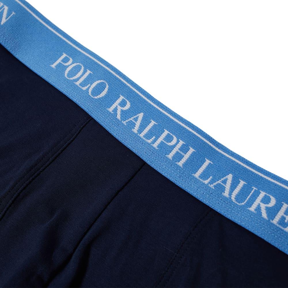 Polo Ralph Lauren Boxer Brief - 3 Pack - Navy & Bermuda Blue
