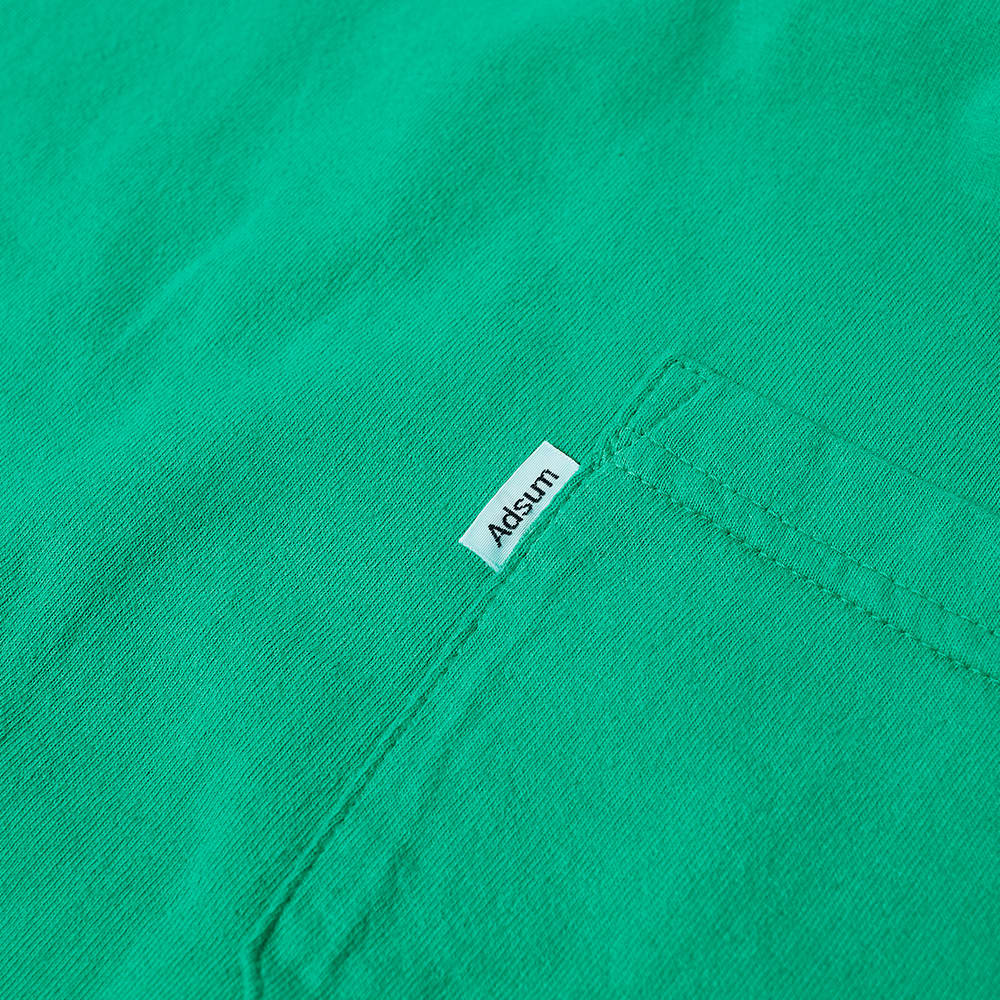 Adsum Pocket Tee - Bright Green