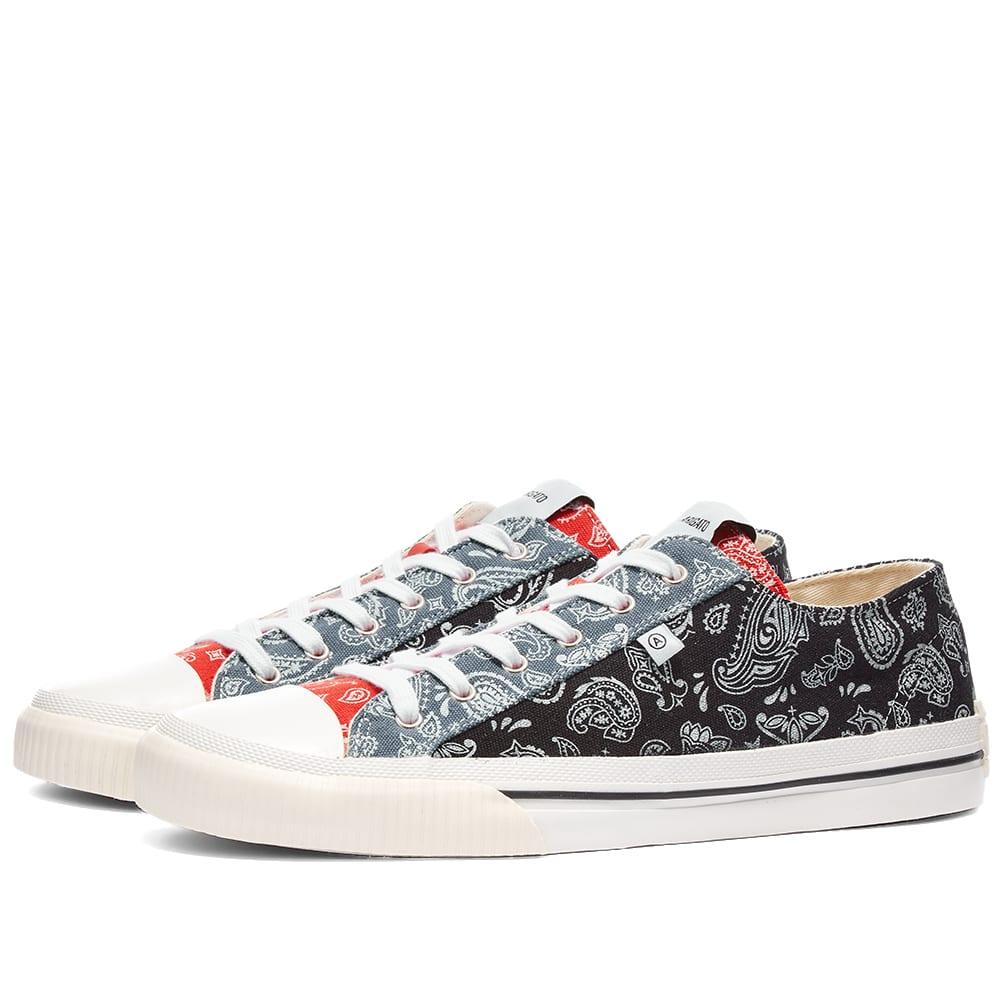 Axel Arigato Midnight Low Sneaker - Paisley Black Mix