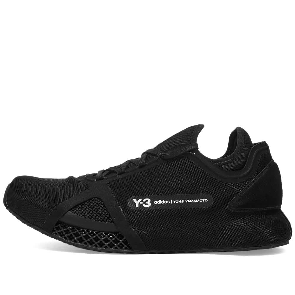 Y-3 Runner 4D IO - Black & Core White