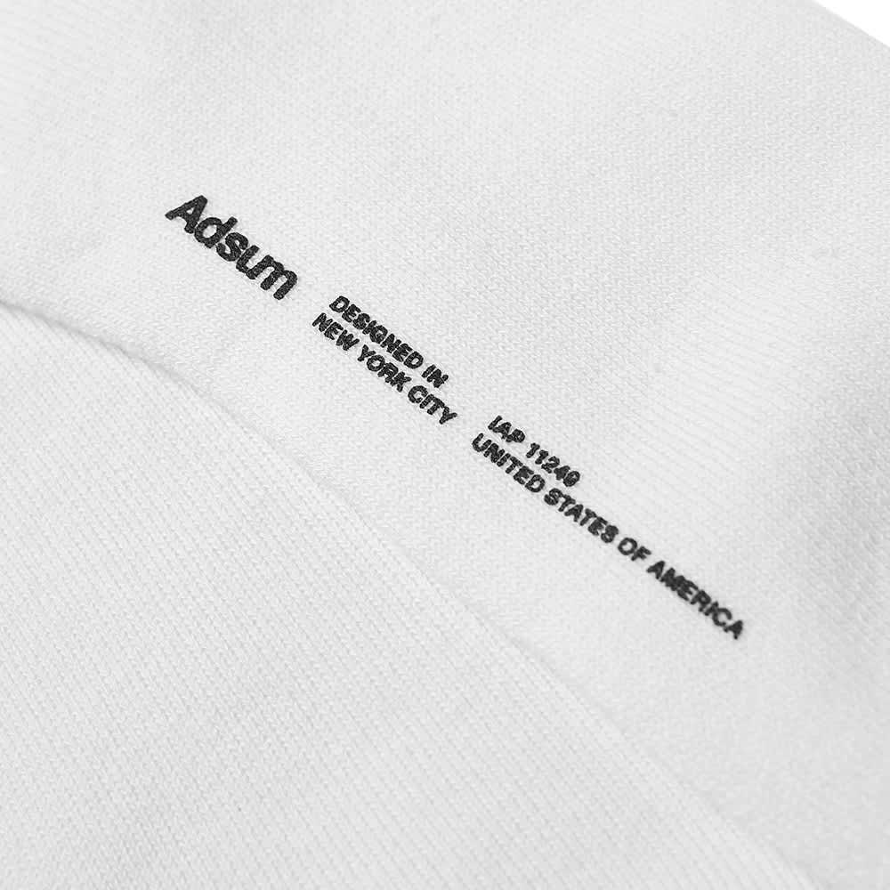 Adsum Classic Logo Sock - White