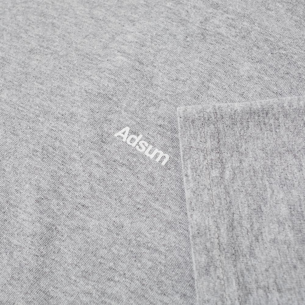Adsum Classic Logo Tee - Bleached Heather