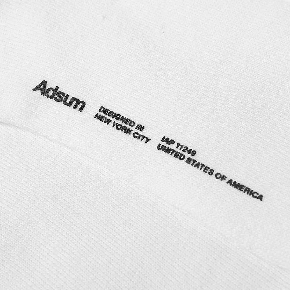 Adsum Comfort Fit Sock - White