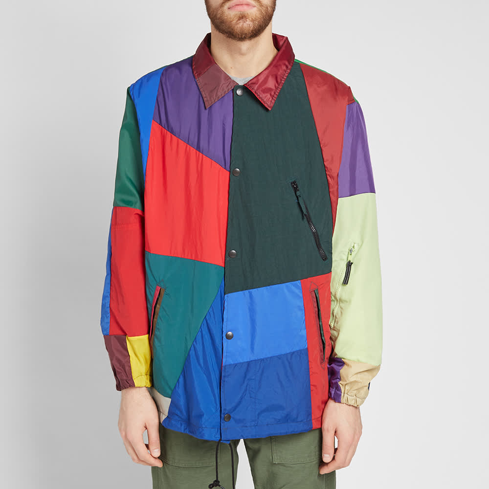 Needles Nylon Cut & Sew Coach Jacket - Multi