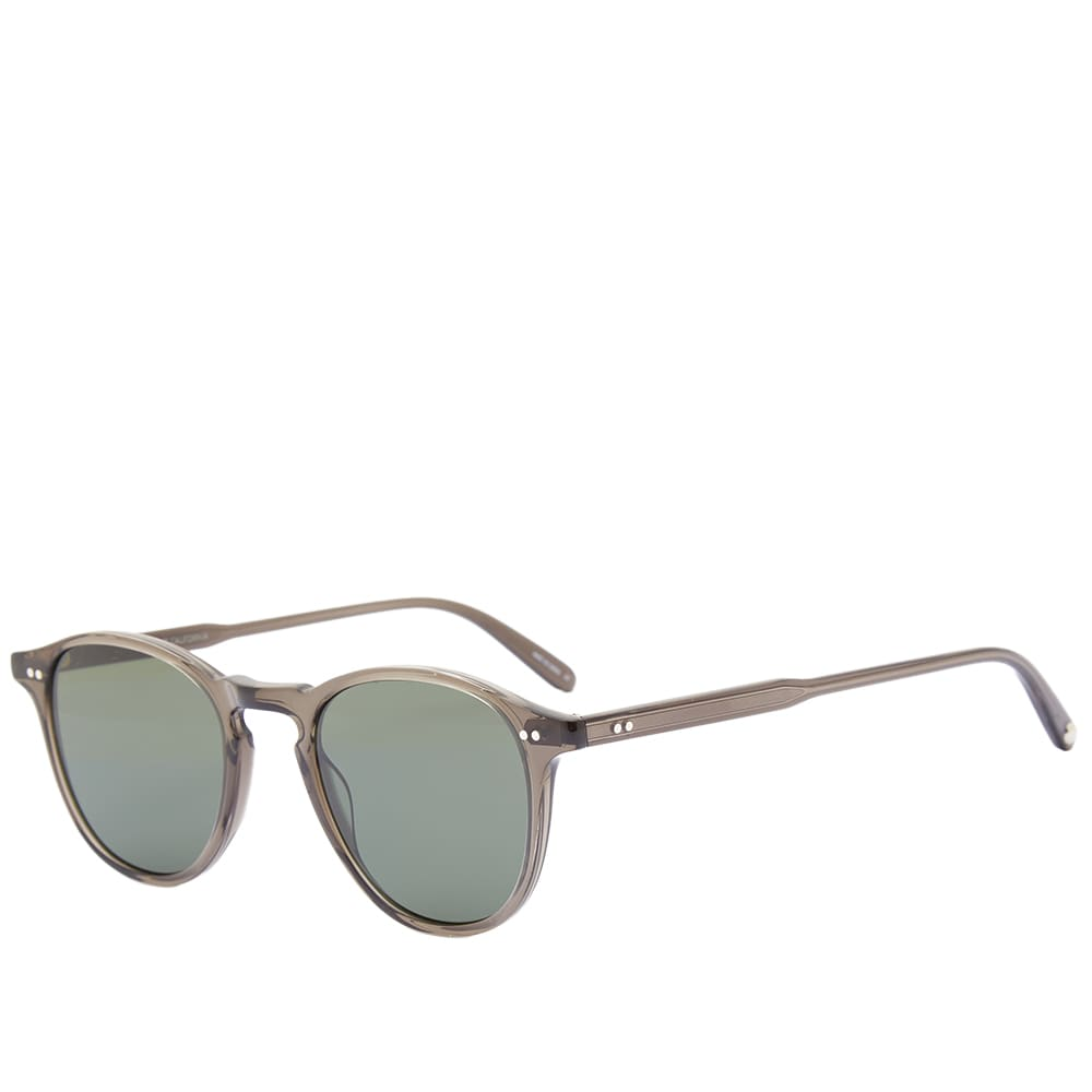 Garrett Leight Hampton Sunglasses - Black Glass & Semi Flat