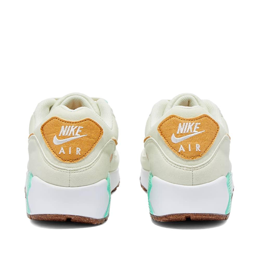 Nike Air Max 90 Lx W - Milk, Gold, Green & Bone