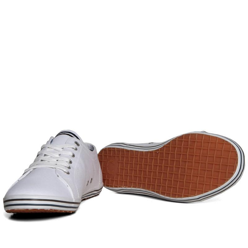 Fred Perry Kingston Twill Tipped - White