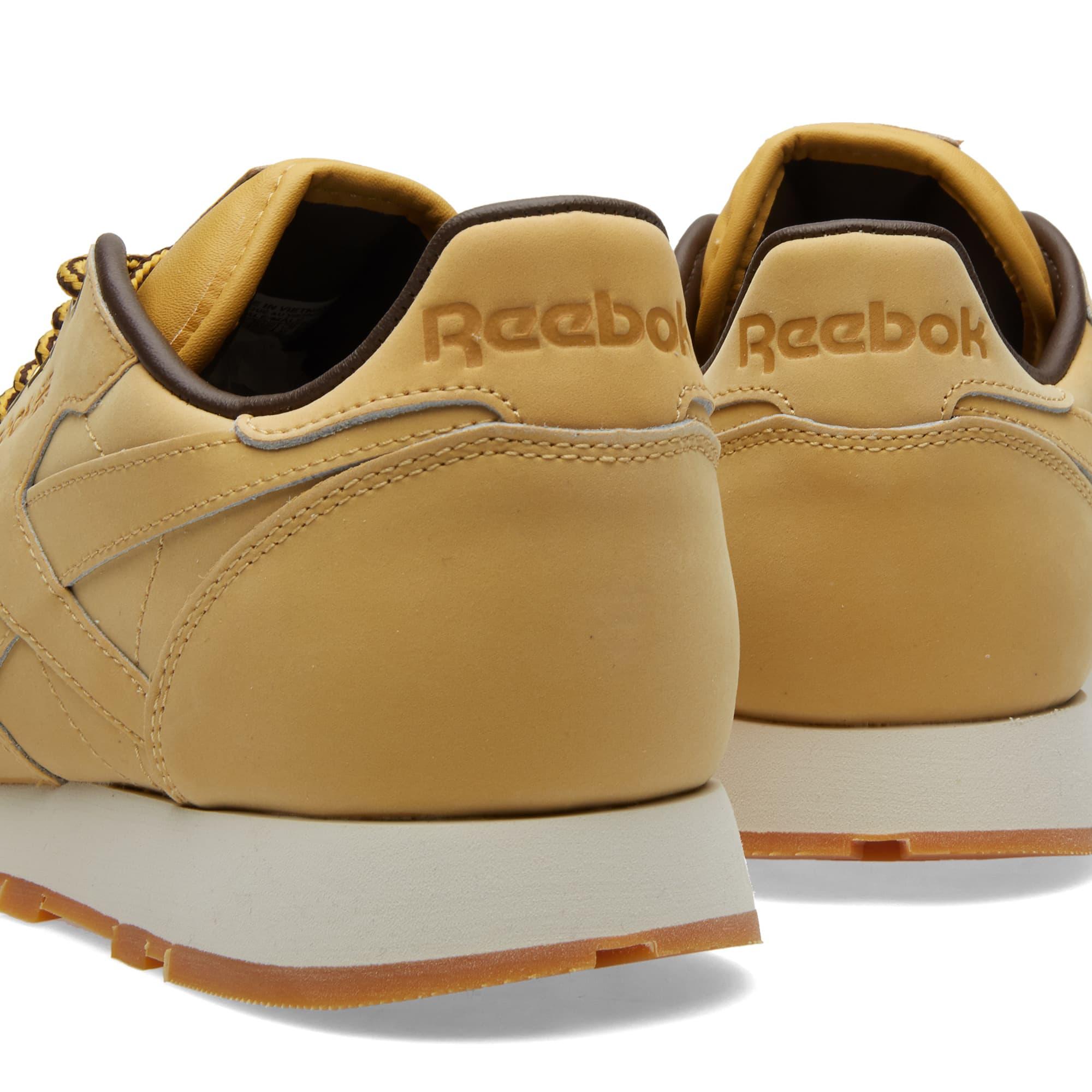 Reebok Classic Leather 'Wheat' - Wheat & Dark Brown