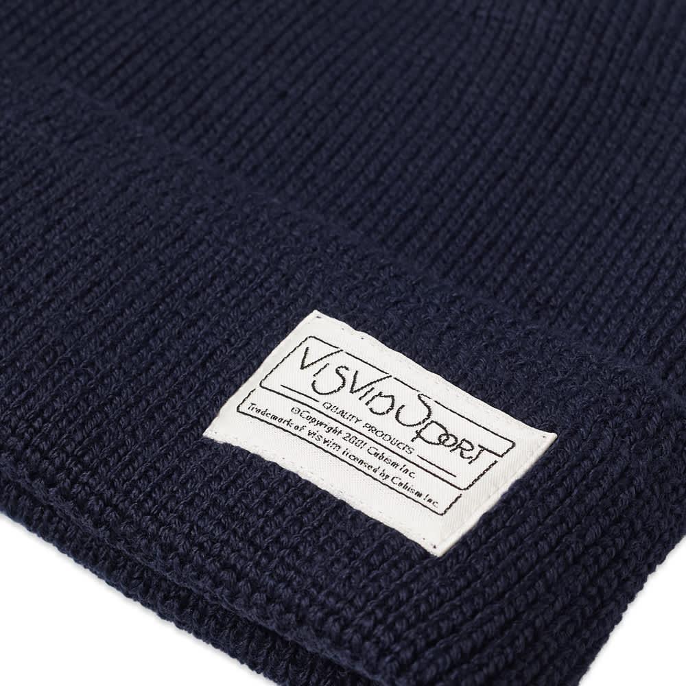 Visvim Sport Knit Beanie - Navy